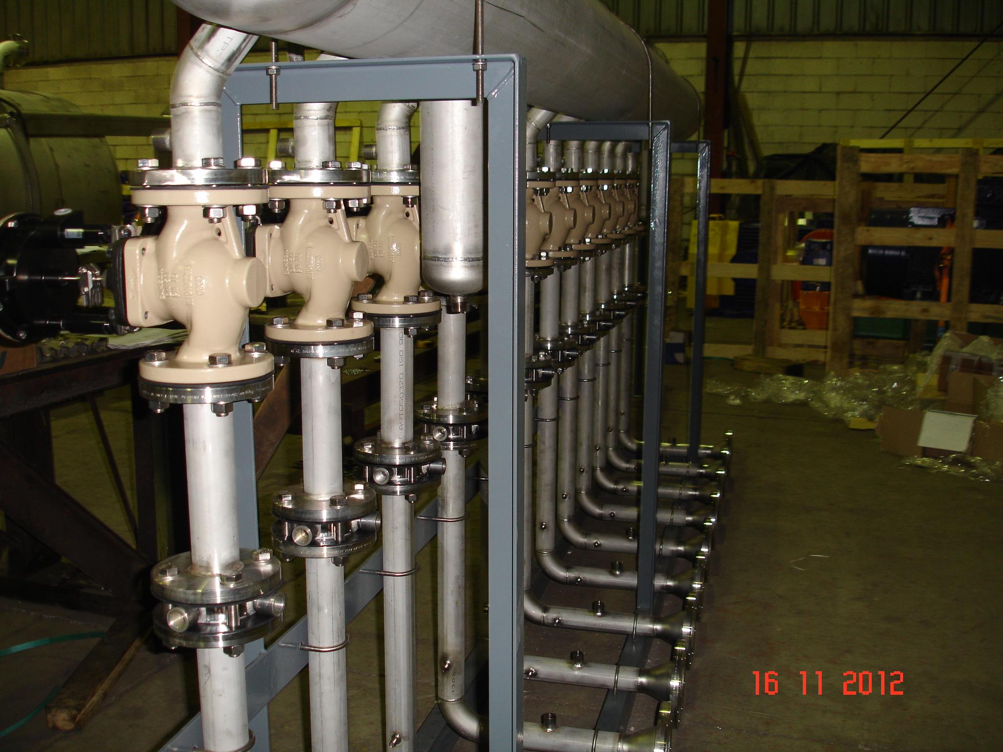 Equipo compacto para captación de biogas (Castellón, España)