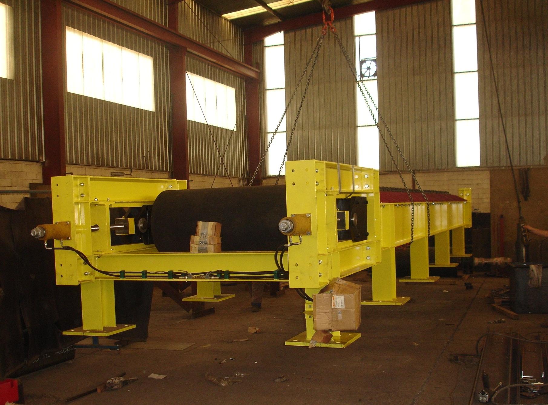Cintr transportadora para Central Térmica de Compostilla II (Cubillos del Sil, León, España)